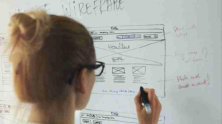 UX Web Designer