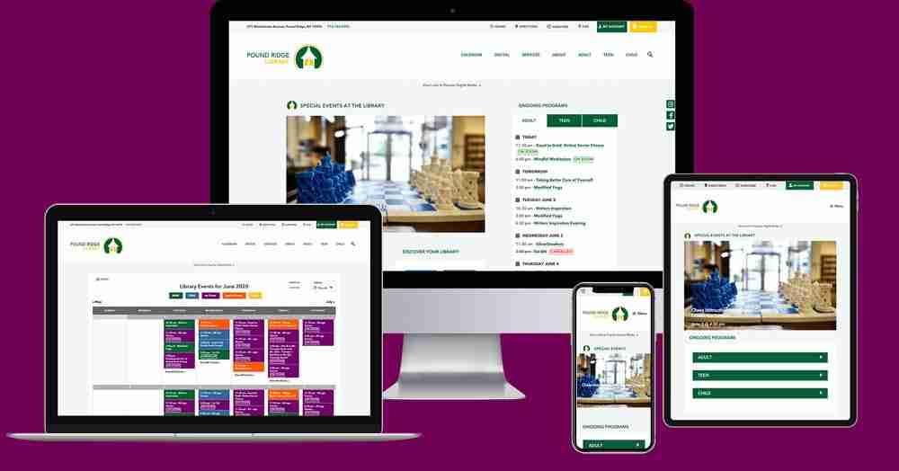 Pound Ridge Library - New Website