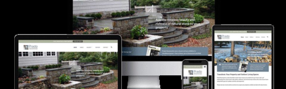 Prado Stoneworks - New Website - Mobile