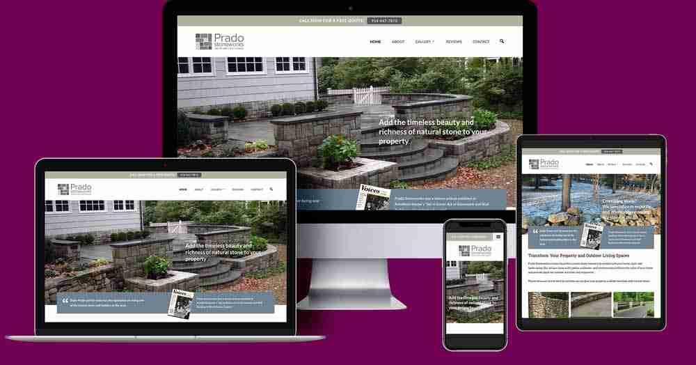 Prado Stoneworks New Website
